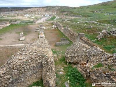 Parque Arqueológico Segóbriga-Monasterio Uclés;real de san vicente toledo rutas de senderismo por